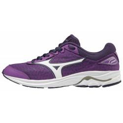 zapatillas wave rider 22 junior para niños color violeta