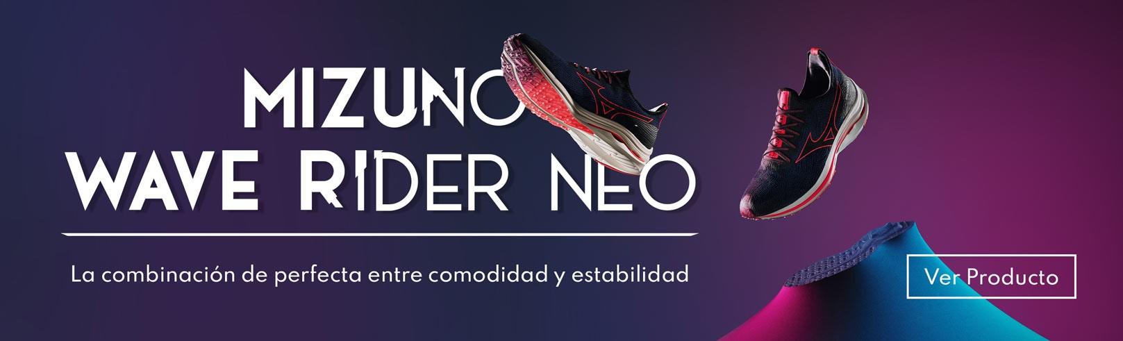 mizuno wave rider neo. Tienda Mizuno zapatillas de running España y Canarias